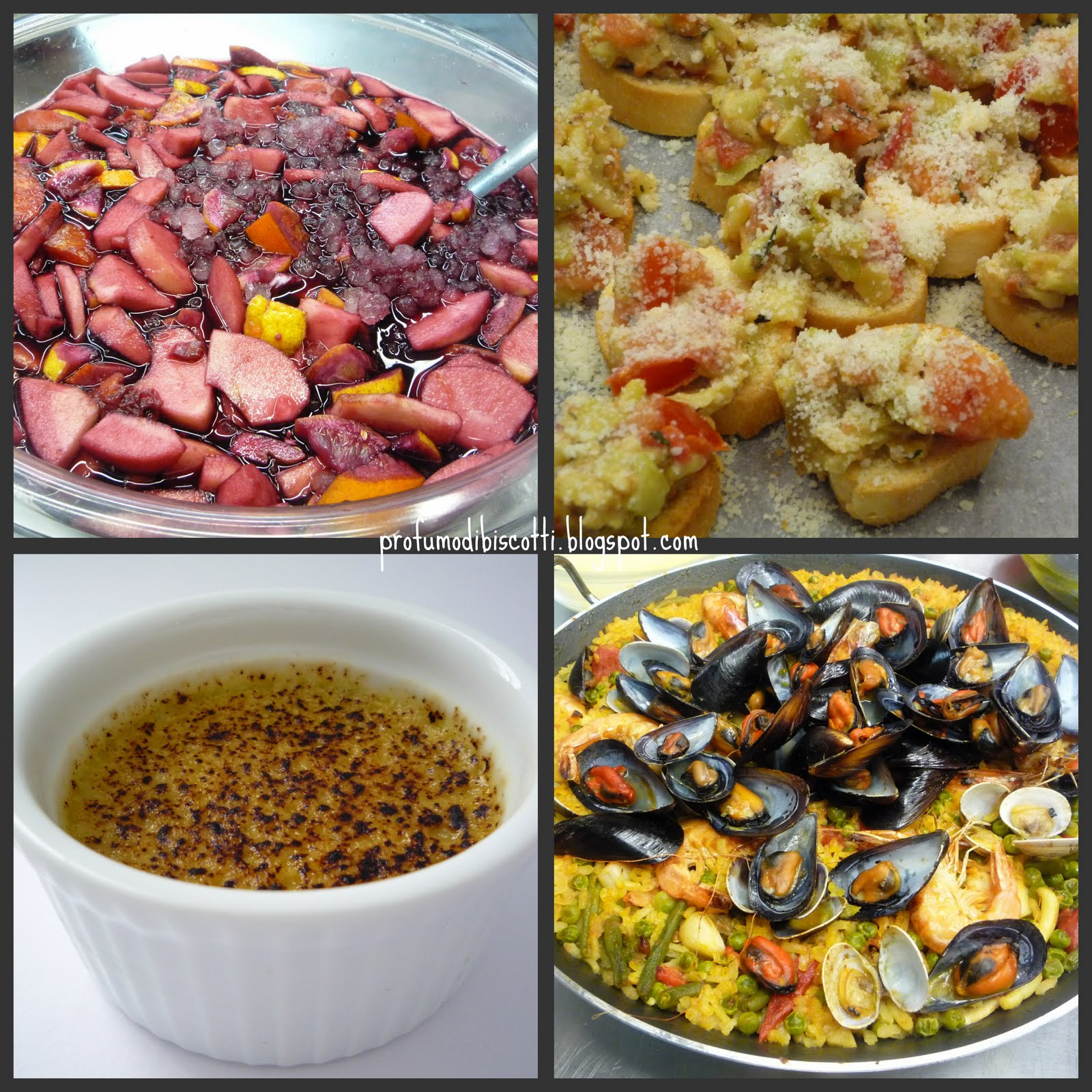 Profumo di biscotti corso alle tamerici la cucina spagnola for Cucina spagnola