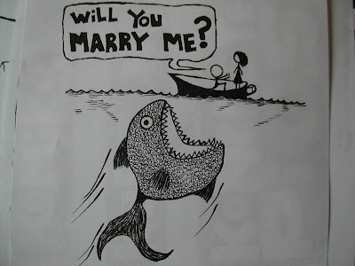 fish,love,marriage proposal,cartoon,webcomic,drawing