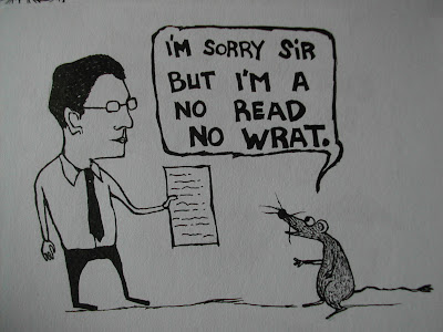 illiteracy,cartoon,webcomic,rat,human