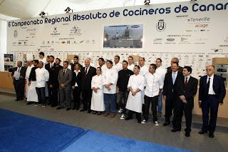 Arranca el VI Campeonato de Cocineros de Canarias