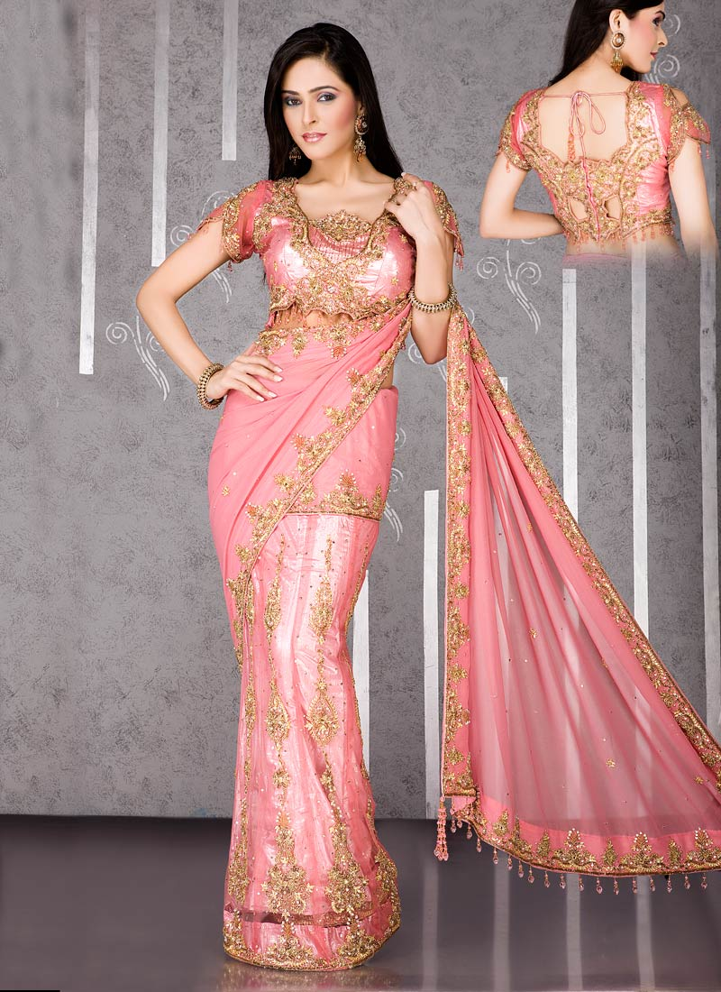 Latest Fashion Modren Saree Styles