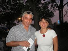Insieme a Deborah Serracchiani.