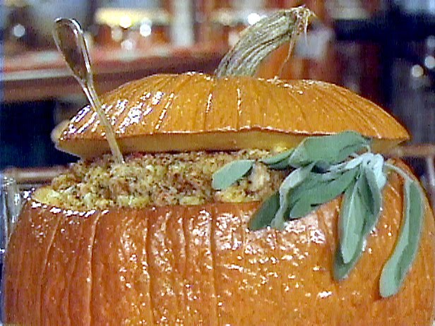 Tyler florence recipes overstuffed pumpkin with cornbread Tyler florence recipes turkey