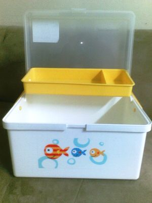 Useditem2 Mothercare Little Fish Baby Box Rm 125 New