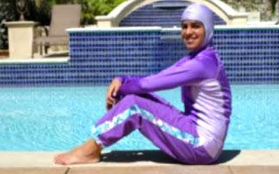 Mille e una donna egitto una musulmana norvegese espulsa dalla piscina a causa del suo burkini - Uomini in costume da bagno ...