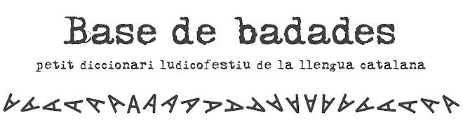 BASE DE BADADES