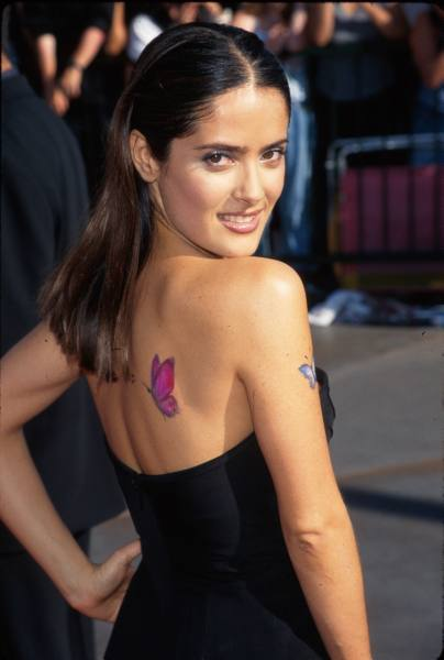 salma hayek tattoo