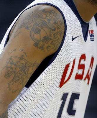 Carmelo Anthony Tattoos