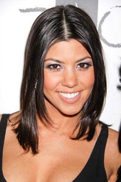 Beauty Entertainment In Kourtney Kardashian Short Hair