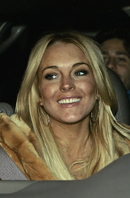 Teeth of Lindsay Lohan