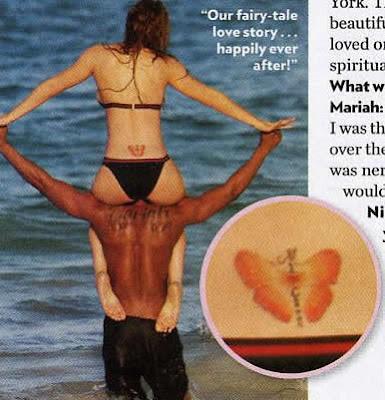 Mariah Carey Tattoos
