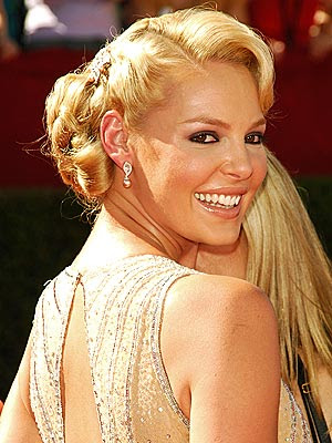 Katherine Heigl hairstyles.