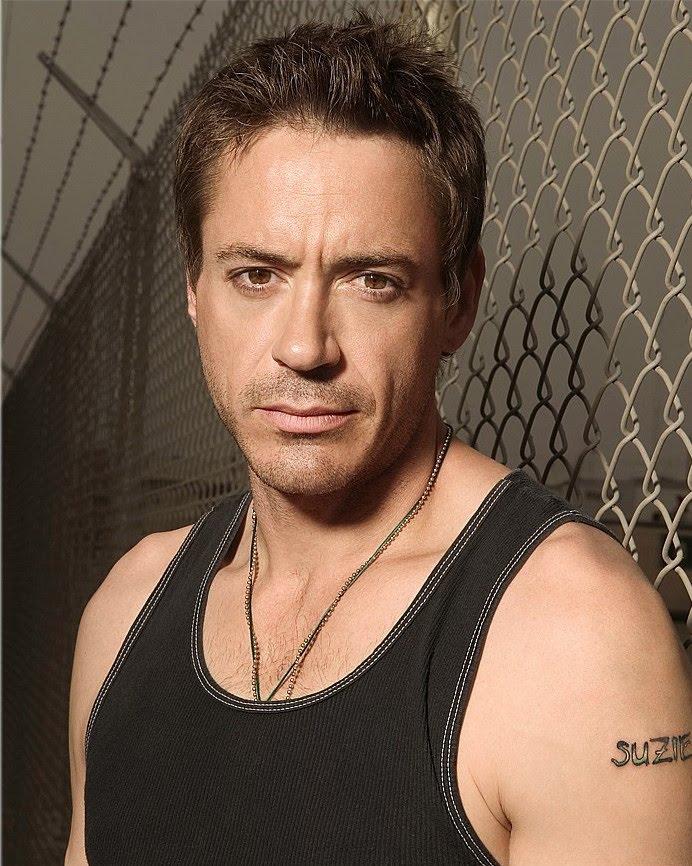 Robert Downey Jr Tattoos