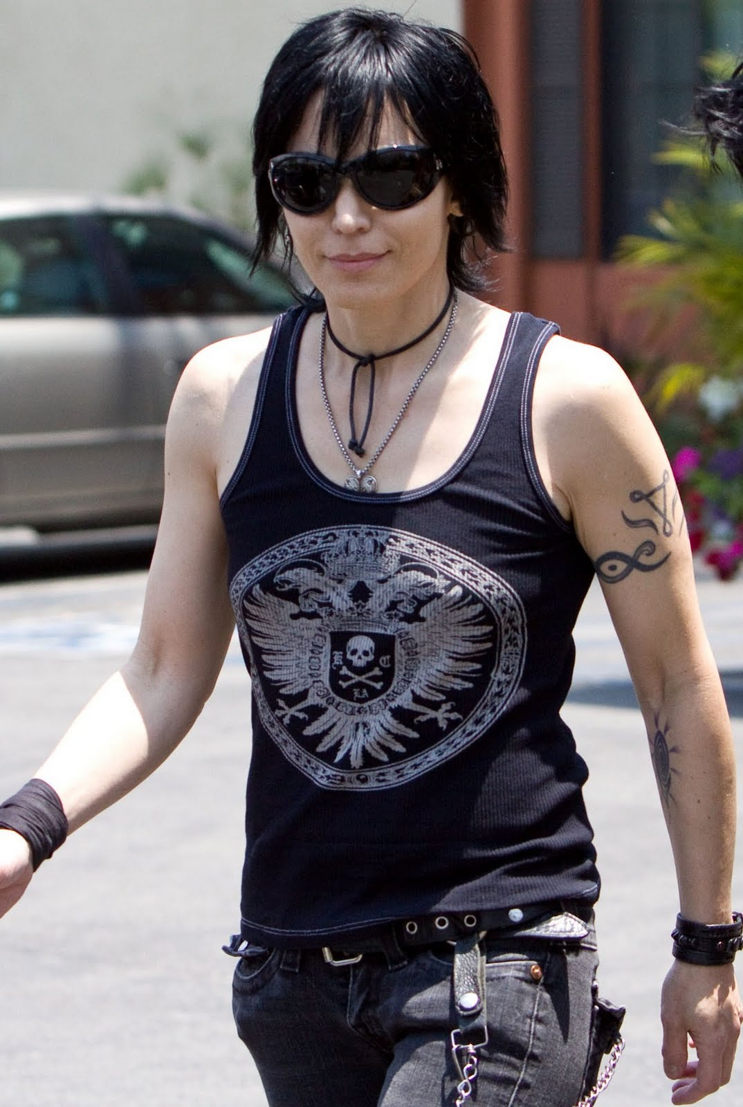 Joan Jett forearm tattoo photo