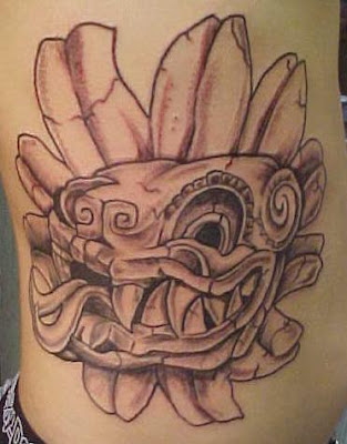 Aztec Warrior Tattoos on Aztec Tattoos   Tattoo Pictures And Ideas