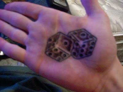 Business Tattoo Dice Tattoos
