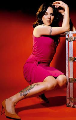 Melanie C Tattoos