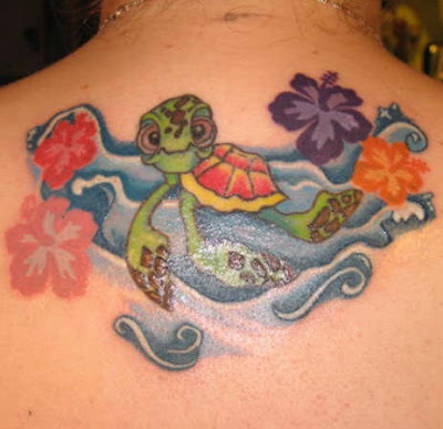 sea turtle tattoo design 2. If you find one you like, print it out and show