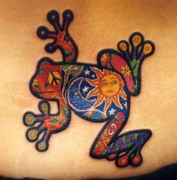 Have you made the decision to get a tribal frog tattoo?