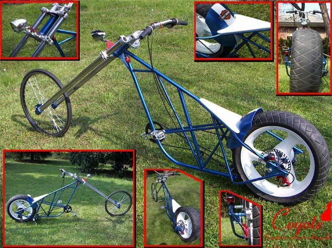 Как сделать самому мото вело