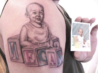 Tattoo Image Gallery, Tattoo Gallery, Tattoo Designs Info: baby portrait by