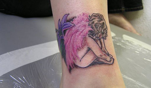 Foot tattoo designs for women stars. Star Ankle Tattoo Designs