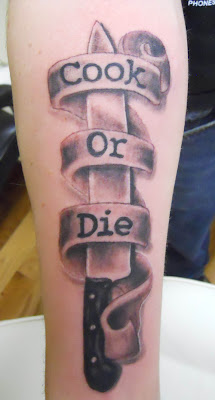 Any thing knife tattoos for Butcher knife tattoo