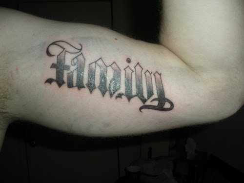 ambigram tattoos. Ambigram Tattoos