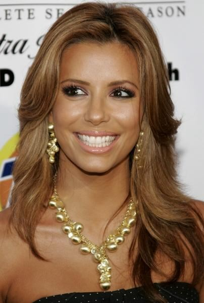 eve longoria hairstyle. Eva Longoria Blonde Hair