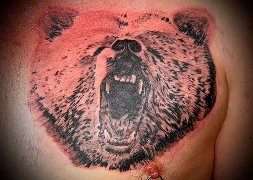 tattoo disasters bear tattoos. Black Bedroom Furniture Sets. Home Design Ideas