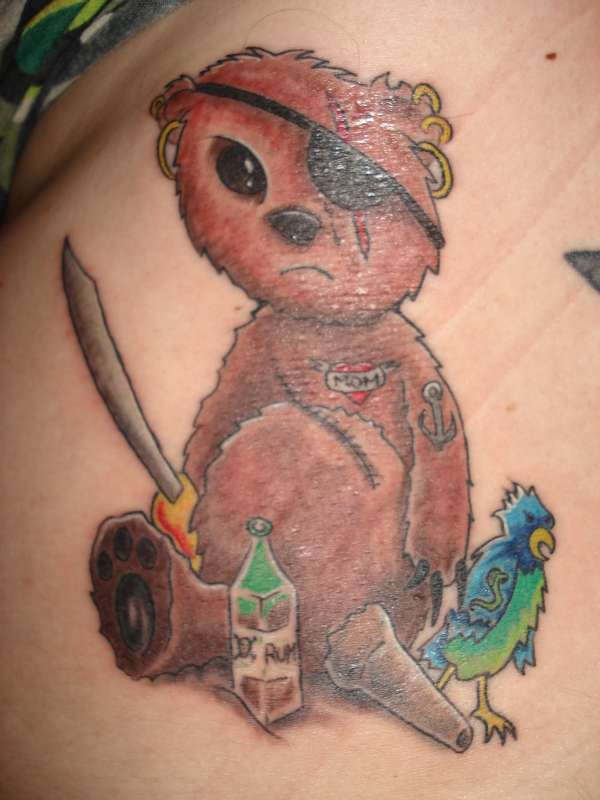 These bear tattoo pictures above are less traditional, but equally as ...