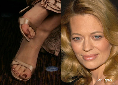 jeri ryan feet