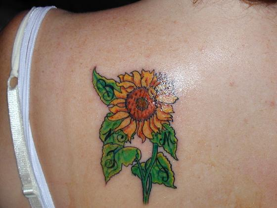Sunflower Tattoo Designs (10 of 90) Feast you eyes on the great quality