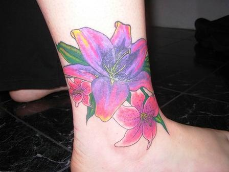ankle tattoos for girls. ankle tattoos of very