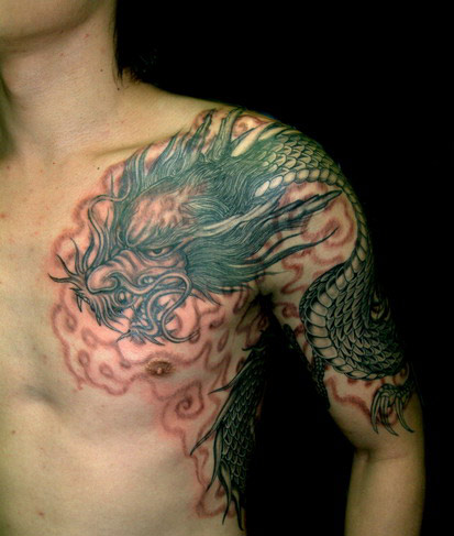 Dragon Tattoo on Dragon Tattoos   Ideas And Pictures