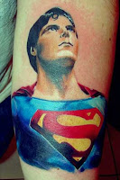 Classic Superman tattoo
