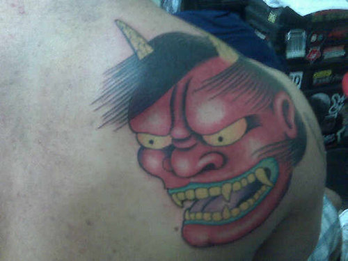 cartoon tattoos for girls