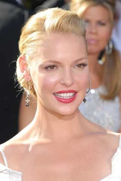 ... on Katherine Heigl, and quite frankly we wanna see more of it