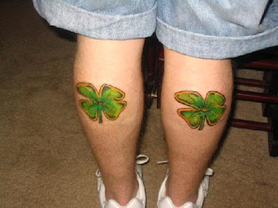Shamrock And Clover Tattoos