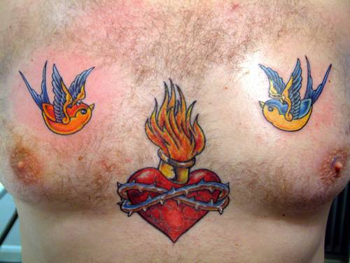 heart and wings tattoo. Heart with Wings Tattoo