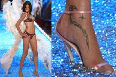Adriana Lima Tattoos