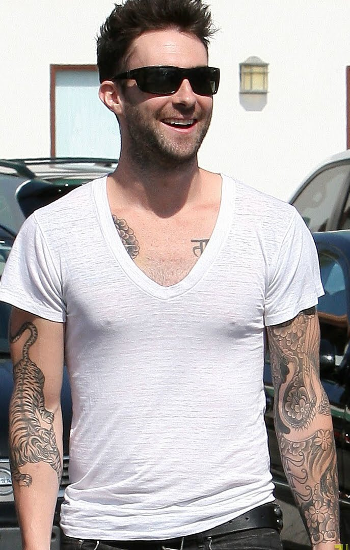 Adam Levine Tattoos - Ideas And Pictures