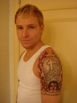 Brian Littrell Tattoos