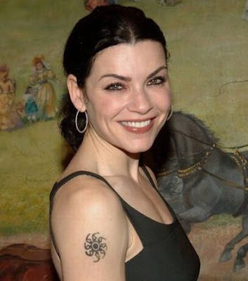 Julianna Margulies Sun Tattoo celebrity