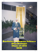 **Bach. of HS (PSyc.) Class of 2002, IIUM**