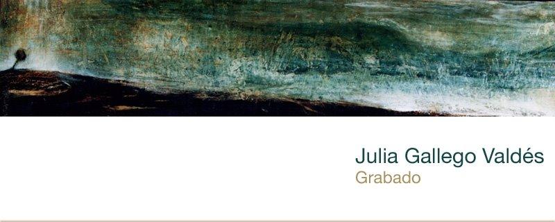 Julia Gallego Valdés Grabado