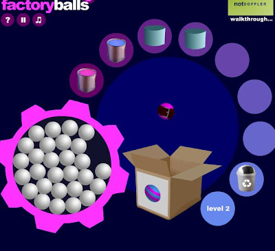Factory Balls 3 walkthrough