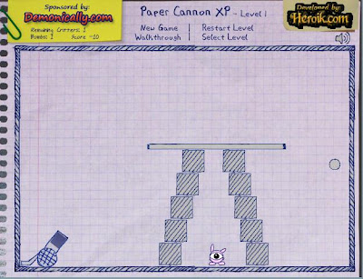 Paper Cannon XP Pack walkthrough