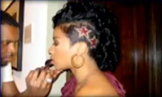 Keyshia Cole shaved head | Keyshia Cole new haircut