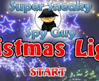 Super Sneaky Spy Guy Christmas Lights walkthrough